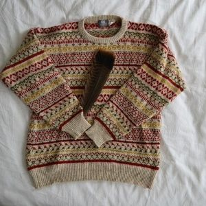 Vintage Kiz Collection Oversized Sweater